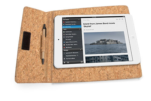 Funda corcho natural para tablet 9,7 ""